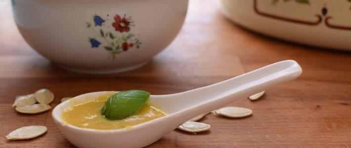 Kürbis- Kartoffelsuppe (vegetarisch)