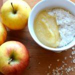 Schneller warmer Porridge