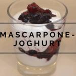 Mascarpone-Joghurt mit Beeren